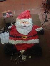 Santa Claus - Blow Up 100 volt Christmas in Ramstein, Germany