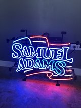 Sam Adams neon sign in Naperville, Illinois