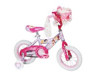 Brand New Condition Huffy Girl's Disney Princess Bike, Soft Pink/Pink, 12-Inch With Doll Carriage in Aurora, Illinois