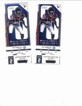 NFL  Texans V Cowboys  7th Oct NRG  2 Tickets in Baytown, Texas
