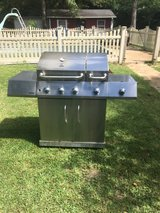 Kenmore stainless steal grill w/ tank in Leesville, Louisiana