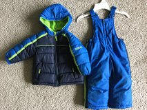 Boys 18m  winter coat and snow pants in Bolingbrook, Illinois