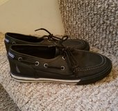 Nautica boys leather boat shoes in Naperville, Illinois