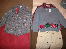 Boys Christmas outfit and shirt in Bolingbrook, Illinois