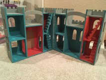 Custom Painted Wooden Play Castle in Travis AFB, California