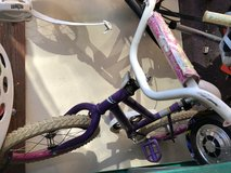 Girls bicycle in Fairfield, California