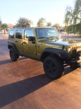 4 door Jeep Rubicon in Yucca Valley, California