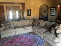 custom made sectional in Yucca Valley, California