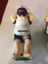 Chicago Bears Santa Claus Ornament in Bolingbrook, Illinois