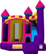 Purple/Pink Castle Bounce House in Vacaville, California