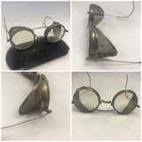 c1917 Antique Strong Kennard & Nutt Company Motorcycle Driving Glasses Steampunk in Bolingbrook, Illinois