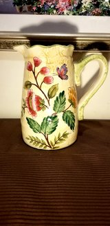 Beautiful Spring Bloom Ceramic Pitcher in Westmont, Illinois