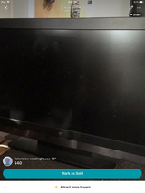 """42"""" Westinghouse TV lcd in Vacaville, California"""