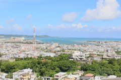 Far ocean view apt in okinawa city in Okinawa, Japan