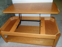 Oakwood Coffee Table 2-Level with Hidden Storage in Camp Pendleton, California