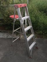 Werner 5ft aluminum ladder in Okinawa, Japan