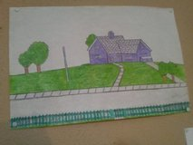 9 by 12 Drawing in Fort Polk, Louisiana
