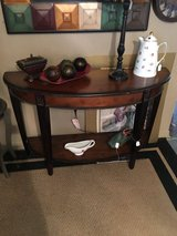 Half table 16 inches deep 47 inches long 30 inches tall in Conroe, Texas