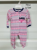 New - 0/3 mths Onesie in Fort Bliss, Texas