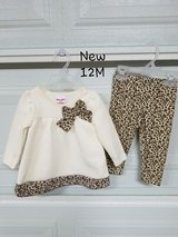 New - 12 mths 2 pc. Baby Outfit in Fort Bliss, Texas