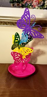 Colorful Butterflies Jewelry Stand and Holder in Westmont, Illinois