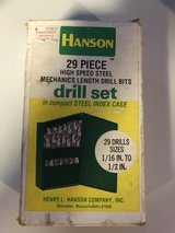 Hanson 29 Piece Drill Bits in Fort Knox, Kentucky