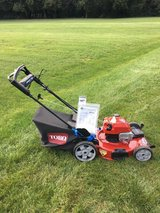 BRAND NEW NEVER MOWED WITH TORO 7.25HP MOW N' STOW PERSONAL PACE POWER REVERSE MOWER GREWAT SHAP... in Yorkville, Illinois