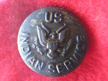 Vintage US Military Native American Indian Service Button in Case in Naperville, Illinois