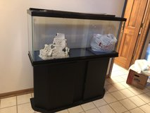 Moving sale--fish tank with all accessories (pumps, filter, pebbles, cleaning brush etc) in St. Charles, Illinois