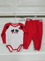 New - 6/9 mths 2 pc. Baby Outfit in Fort Bliss, Texas