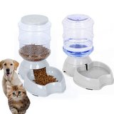 Automatic Pet Feeder,Pet Water Feeder Fountain,Dog Cat Water Food Dispenser Bowl,Pet Waterer Fee... in Glendale Heights, Illinois