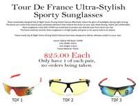 Tour de France Ultra Stylish Sunglasses in Spring, Texas