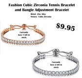 Crystal Pull Tight Womens Bracelet in Spring, Texas