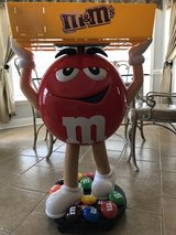 M&M Character Candy Store Display With Tray in Perry, Georgia