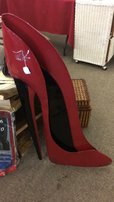 Large Shoe (New) to hang on wall in Fort Leonard Wood, Missouri