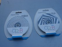 TWO NEW 10 PACK OF MEMOREX CDR DISCS in Naperville, Illinois