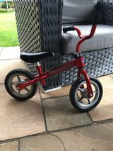 Balance bike in Lakenheath, UK