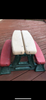 Young Toddler Picnic Bench table in Naperville, Illinois