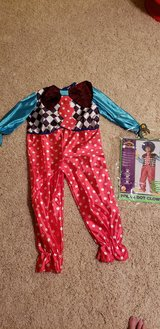 Brand New Polka Dot Clown Costume in Tinley Park, Illinois
