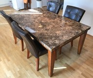 Marble Dining Table Set in Indianapolis, Indiana