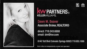 In the market for a new home?   Looking to sell your old home?     I would love to help! Dawn M.... in Fort Carson, Colorado