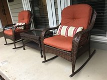Patio wicker 2 chairs in Glendale Heights, Illinois