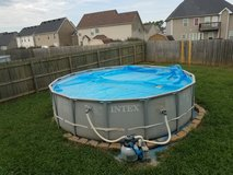 16' Intex pool w/ sand filter in Fort Campbell, Kentucky