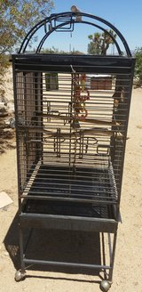 Parrot Cage with Stand in Yucca Valley, California