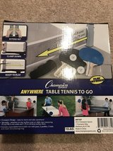 New table tennis To Go Set in Oswego, Illinois