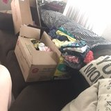 2 big boxes of baby girl size 3-9month assorted in Las Vegas, Nevada