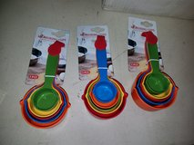 Heavy duty colorful measuring cups in Vacaville, California