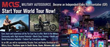 Independent Sales Representative-Military Auto Source in Okinawa, Japan