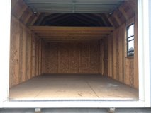 USED 12x20 Lofted Garage Storage Building Shed in Moody AFB, Georgia