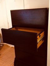 4 drawer wooden file cabinet in Cleveland, Texas